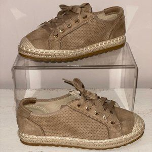 Lace Up Espadrille Sneaker